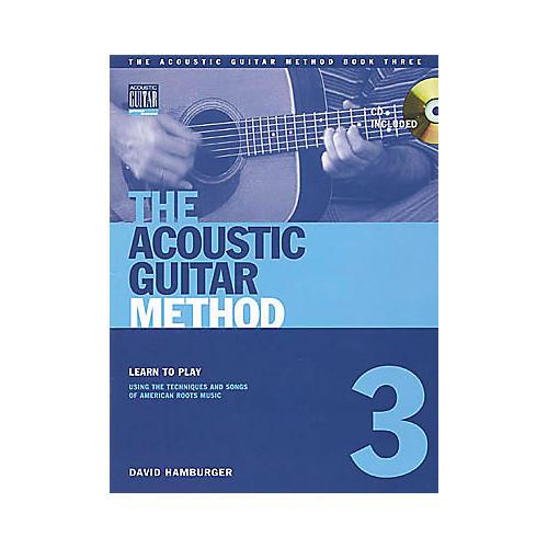 String Letter Publishing Acoustic Guitar Method 3 (Book/CD)-thumbnail