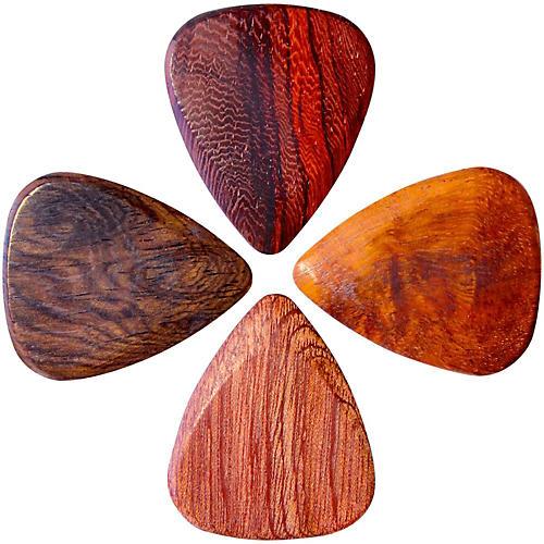 Timber Tones Acoustic Guitar Picks, 4-Pack