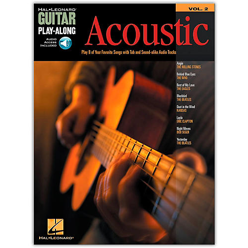 Hal Leonard Acoustic Guitar Play-Along Series Volume 2 Book with CD