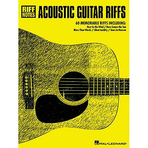 Hal Leonard Acoustic Guitar Riffs Tab Songbook