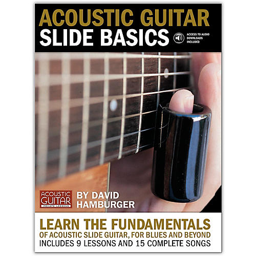 String Letter Publishing Acoustic Guitar Slide Basics (Book/Online Audio)