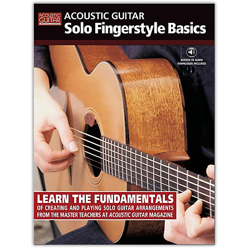 String Letter Publishing Acoustic Guitar Solo Fingerstyle Basics (Book/Online Audio)