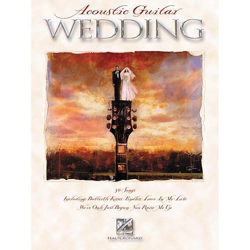 Hal Leonard Acoustic Guitar Wedding Tab Book