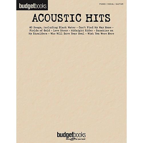 Hal Leonard Acoustic Hits - Budget Book-thumbnail