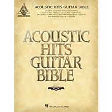 Hal Leonard Acoustic Hits Guitar Bible Guitar Tab Songbook