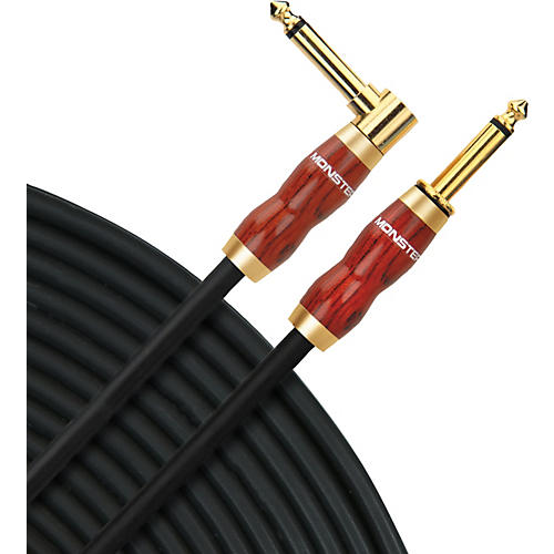 Monster Cable Acoustic Instrument Cable Angle-Straight (No-Frills Packaging)