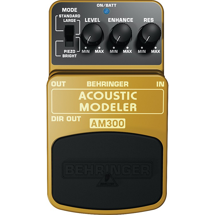 Behringer Acoustic Modeler AM300 Guitar Effects Pedal