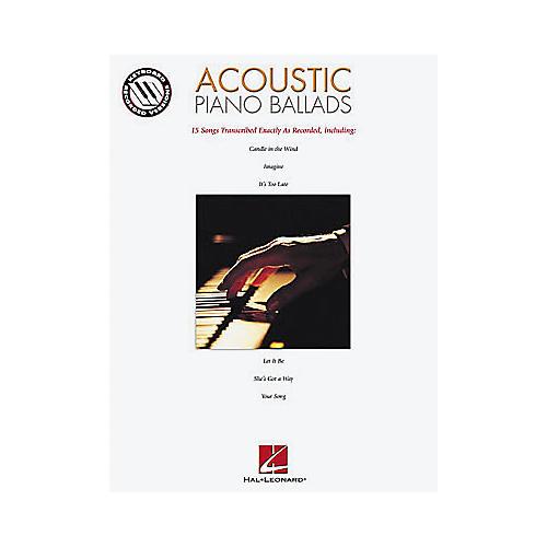 Hal Leonard Acoustic Piano Ballads Songbook-thumbnail