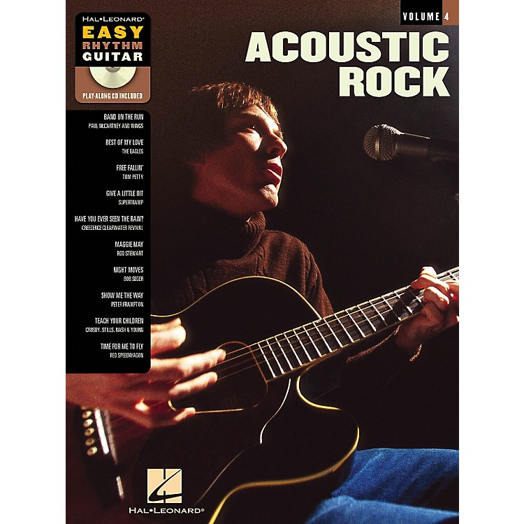 Hal Leonard Acoustic Rock - Easy Rhythm Guitar Series Volume 4 Book and CD