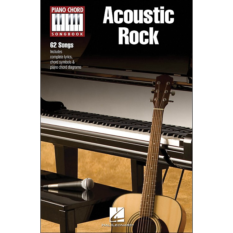 Hal Leonard Acoustic Rock - Piano Chord Songbook