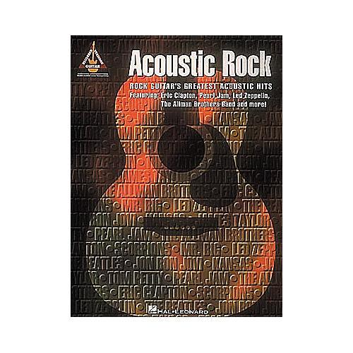 Hal Leonard Acoustic Rock Guitar Tab Songbook