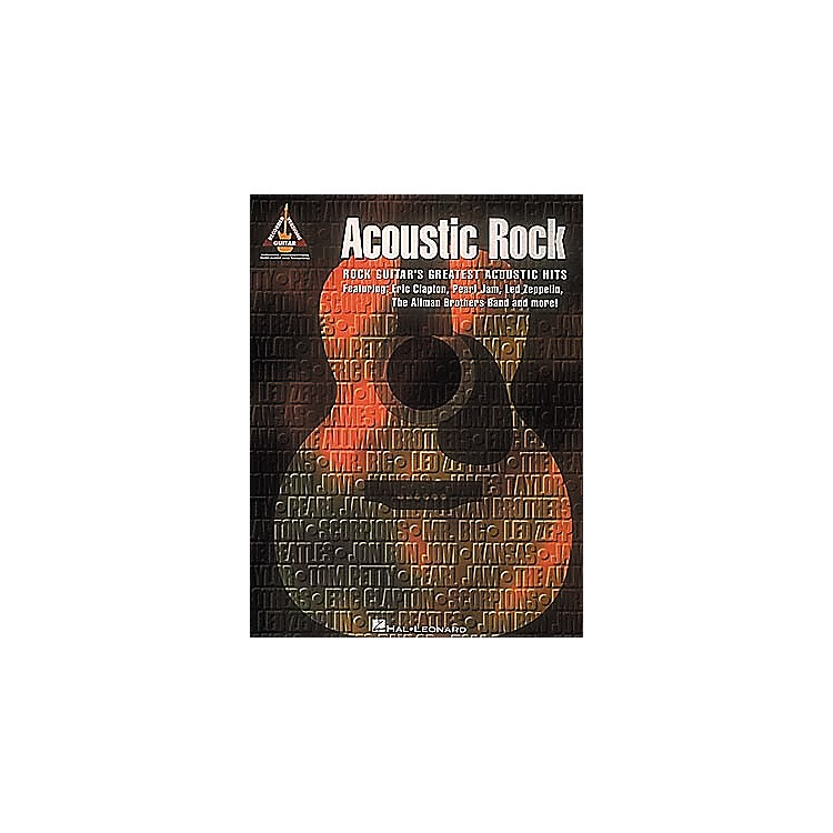 Hal Leonard Acoustic Rock Guitar Tab Songbook