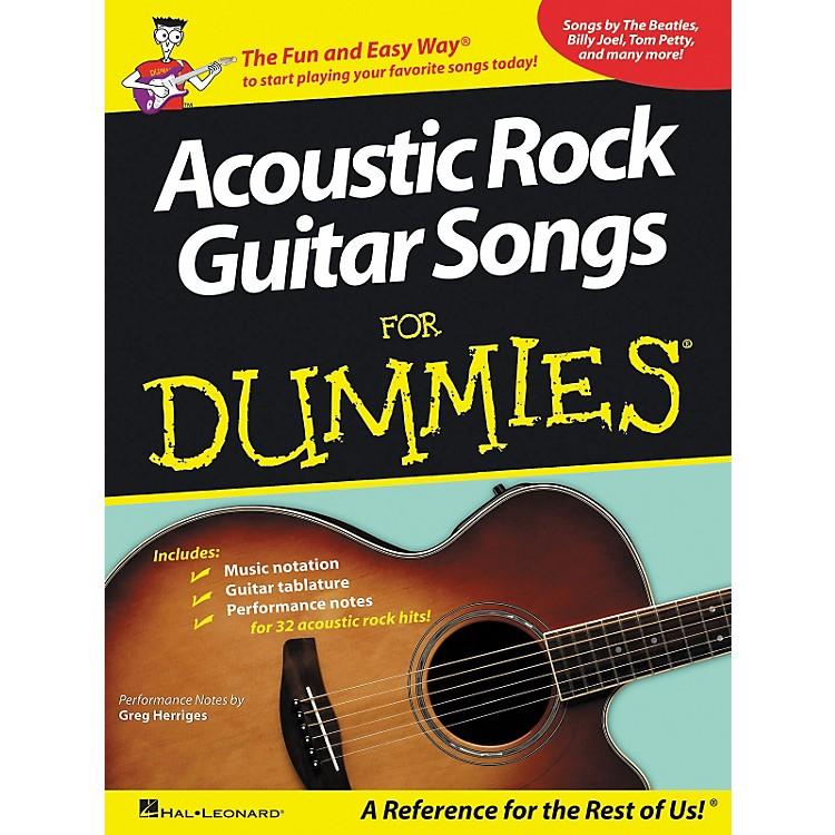 Hal LeonardAcoustic Rock Guitars for Dummies