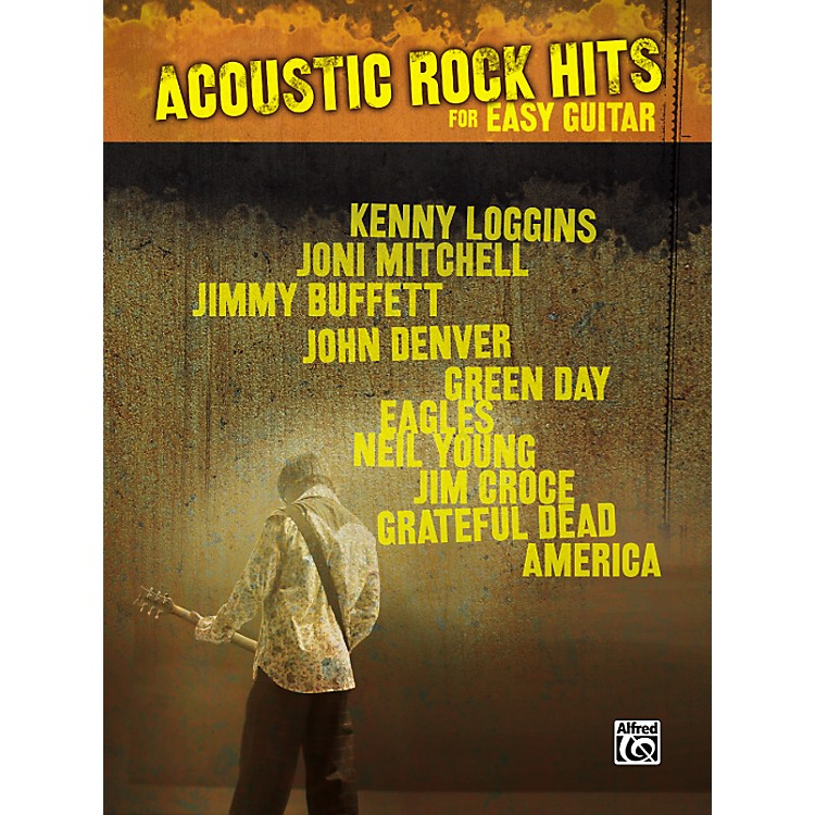 Hal Leonard Acoustic Rock Hits Easy Guitar Tab Songbook
