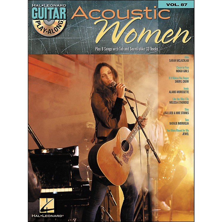 Hal Leonard Acoustic Women - Guitar Play-Along Volume 87 (Book/CD)