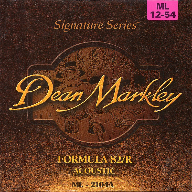 Dean Markley Acoustic formula 82R Medium Light Strings