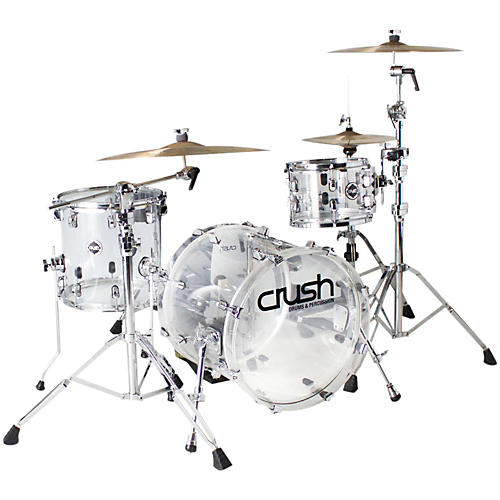 Crush Drums & Percussion Acrylic 3-Piece Bop Shell Pack