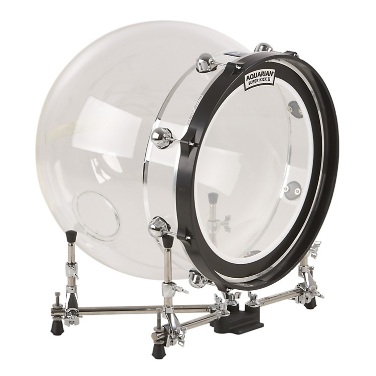 Molecules Drums Acrylic Bass Drum Clear 20 Inch