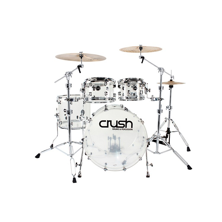 Crush Drums & PercussionAcrylic Series 4-Piece Shell Pack