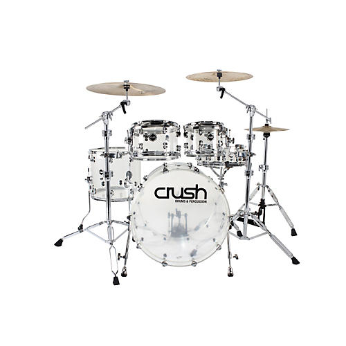 Crush Drums & Percussion Acrylic Series Bass Drum