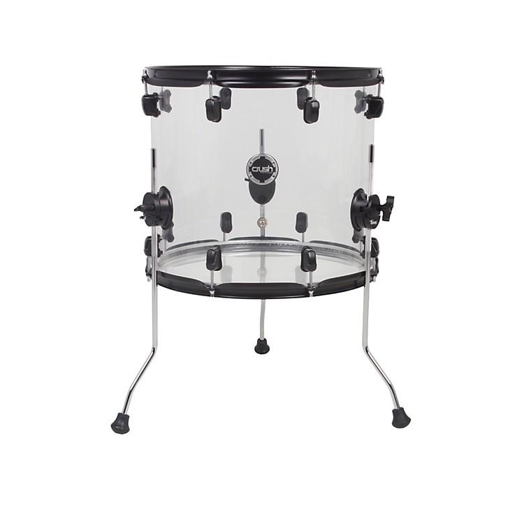 Crush Drums & PercussionAcrylic Series Floor Tom