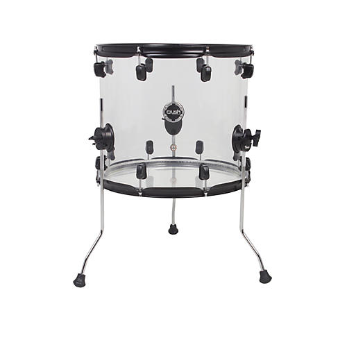 Crush Drums & Percussion Acrylic Series Floor Tom