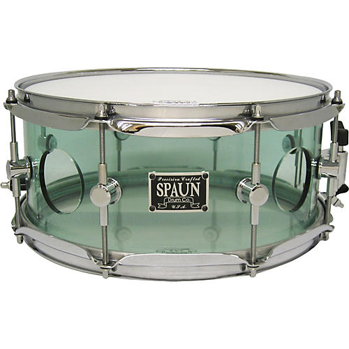 Spaun Acrylic Vented Snare Drum Coke Bottle 5.5x13 Inches