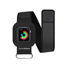 Twelve South ActionSleeve Carrying Case (Armband) for SmartWatch - Black - Ding Resistant, Nick Resistant, Damage Resistant - Silicone - Armband