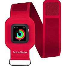 Twelve South ActionSleeve Carrying Case (Armband) for SmartWatch - Red - Ding Resistant, Nick Resistant, Damage Resistant - Silicone - Armband