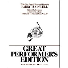 G. Schirmer Adagio And Allegro F Hrn/Pn Great Performers Edition