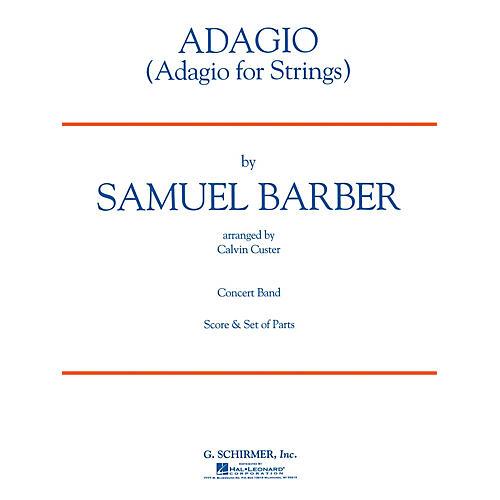 G. Schirmer Adagio for Strings Concert Band Level 4 Composed by Samuel Barber-thumbnail