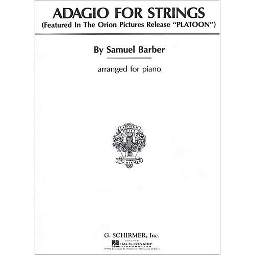 G. Schirmer Adagio for Strings