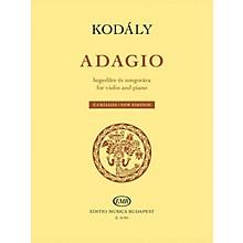 Editio Musica Budapest Adagio for Violin and Piano (New Edition) EMB Series Softcover