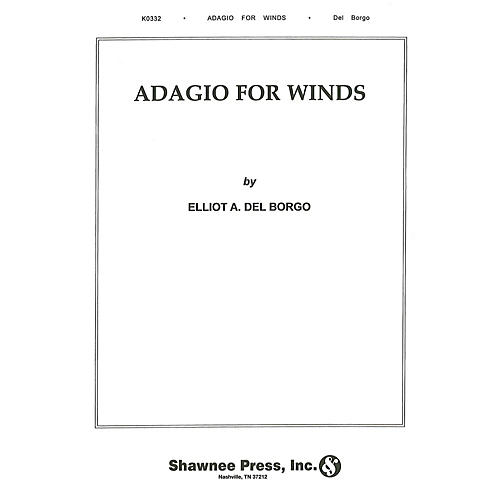 Hal Leonard Adagio for Winds Concert Band Level 3 Composed by Elliot Del Borgo-thumbnail
