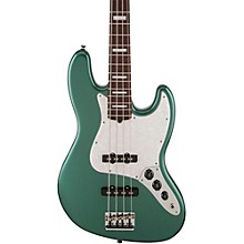 Fender Adam Clayton Jazz Bass Electric Bass Guitar Sherwood Green Metallic
