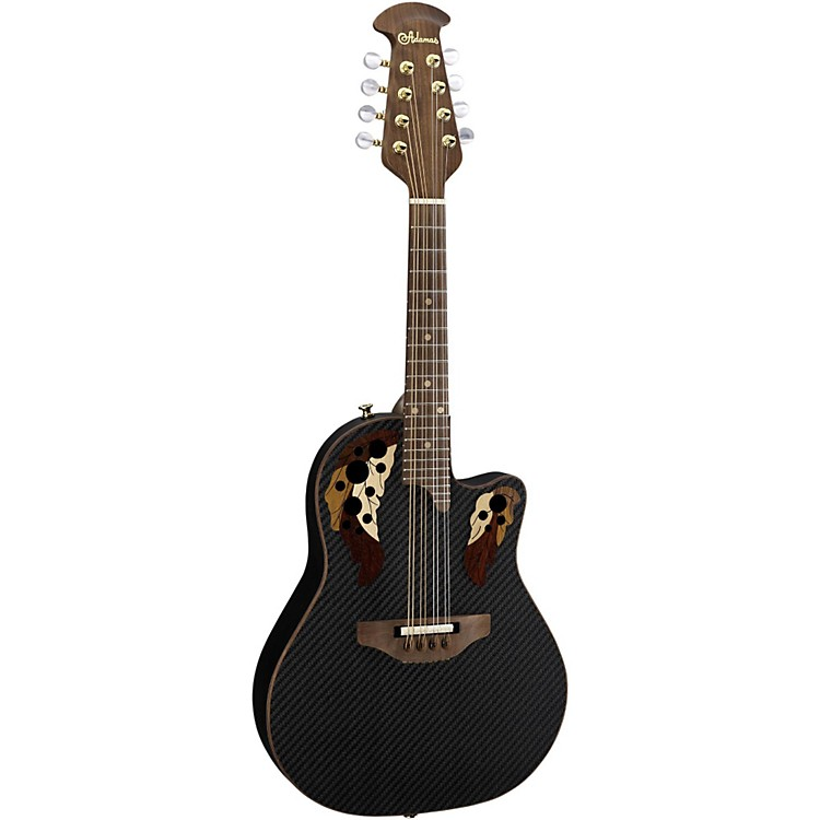 Ovation Adamas Limited Edition Acoustic-Electric Mandolin Carbon Fiber