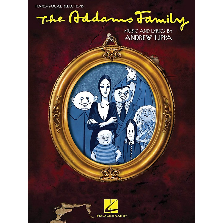 Hal LeonardAddams Family - Piano/Vocal Selections Songbook
