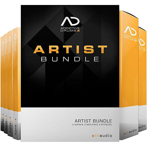 XLN Audio Addictive Drums 2  Artist Bundle