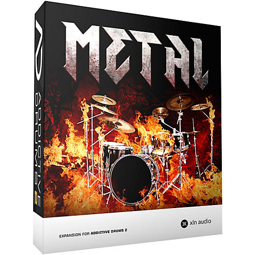 XLN Audio Addictive Drums 2  Metal Software Download