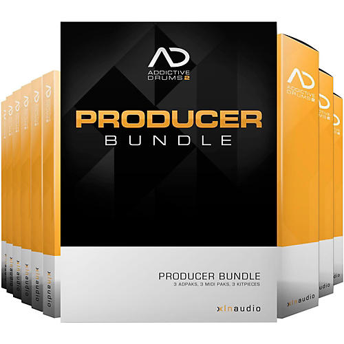 XLN Audio Addictive Drums 2  Producer Bundle