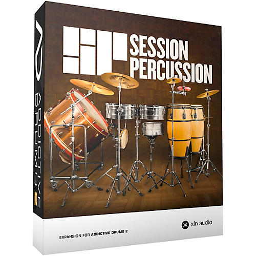 XLN Audio Addictive Drums 2  Session Percussion Software Download