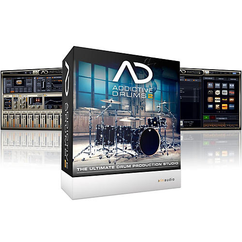 xln audio addictive drums 2 software download musician 39 s friend. Black Bedroom Furniture Sets. Home Design Ideas