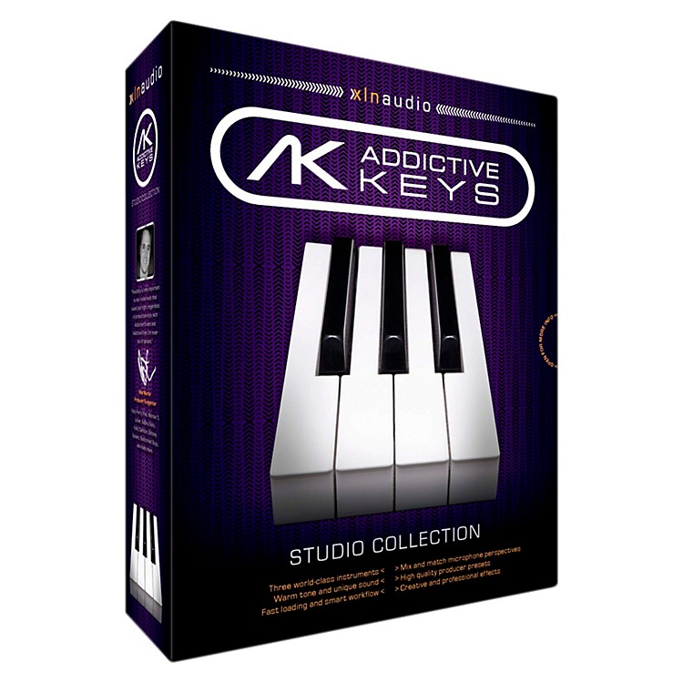 XLN Audio Addictive Keys - Studio Collection Software Download