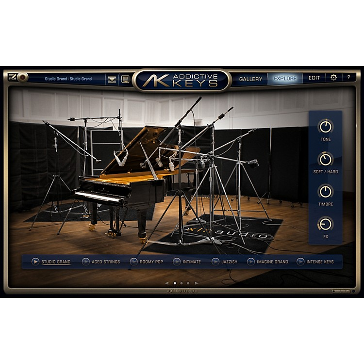 XLN Audio Addictive Keys Studio Collection Promo Pak
