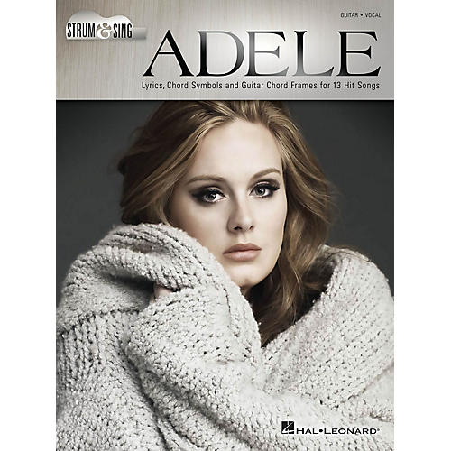 Hal Leonard Adele - Strum & Sing Strum and Sing Series Softcover Performed by Adele-thumbnail