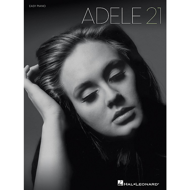 Hal Leonard Adele 21 for Easy Piano