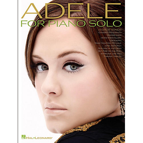 Hal Leonard Adele For Piano Solo