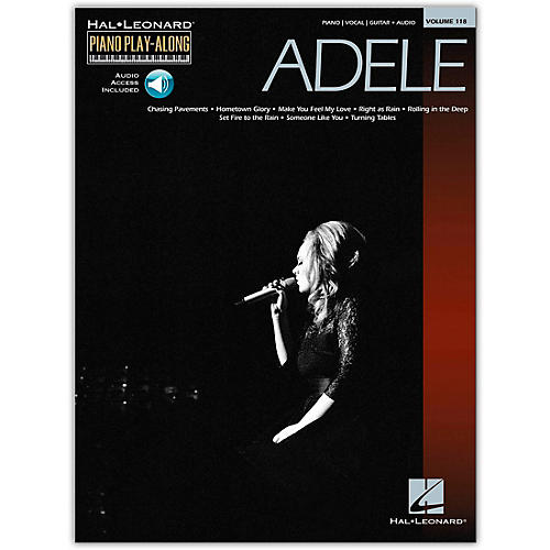 Hal Leonard Adele Piano Play-Along Volume 118 Book/CD