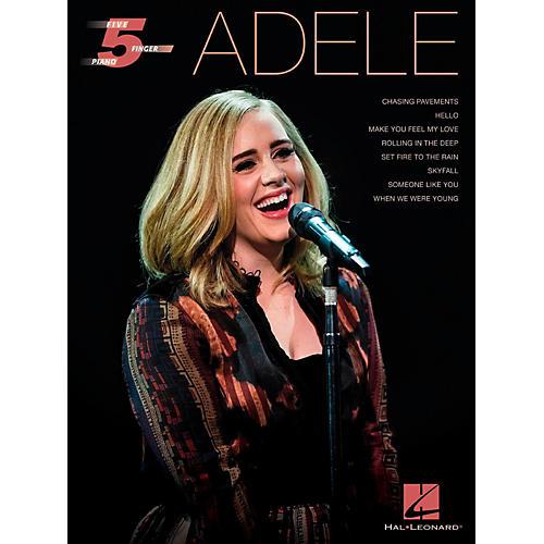Hal Leonard Adele for Five-Finger Piano