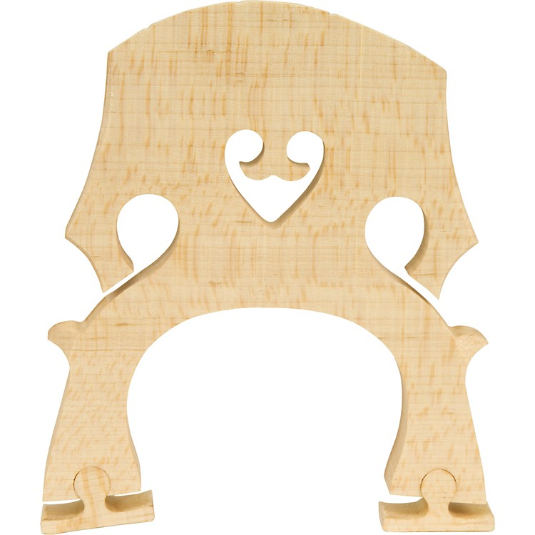 The String Centre Adjustable Cello Bridges 1/2 Med
